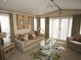 Pemberton Knightsbridge is a massive 42ft x 14.5ft, it has washer/dryer, dishwasher, 2 showers, 1 bath, huge decking, tv's in all bedrooms, CH, DG, 50in tv and Sky feed