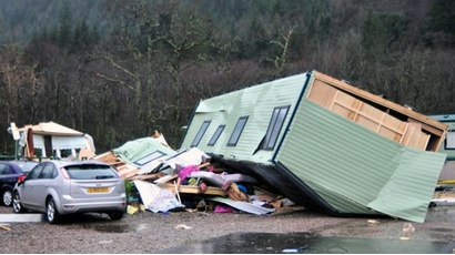 PROTECT YOUR STATIC CARAVAN FOR RENT FROM STORM DAMAGE