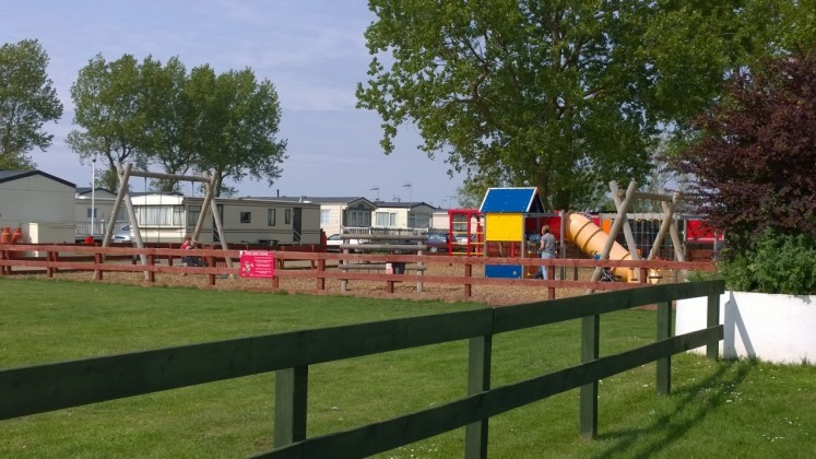 New  Private Static Caravan Holiday Hire At Manor Park Hunstanton Norfolk