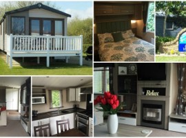 Platinum Three Bedroom Swift Moselle in Golf Village, Hopton Holiday Park
