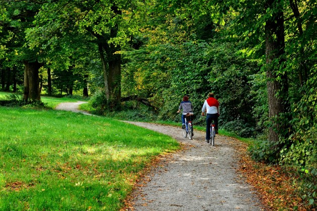 cycling tours caravans to rent on the Isle of Wight