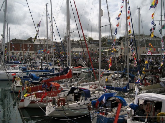 Padstow in North Cornwall