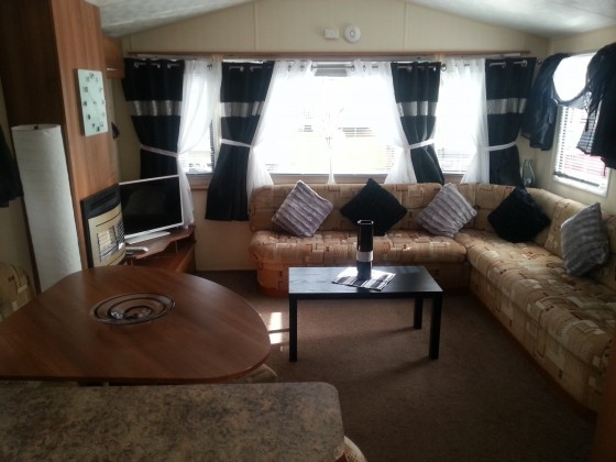 Cool Caravan For Hire At Haggerston Castle In Northumberland