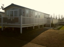 Presthaven Sands Holiday Park.3 Bed Caravan is situated in a beautiful court plot on Snowdonia Court.