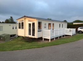 White Acres, Newquay , 8 Berth, 3 bedroomed, DG and Central Heated Caravan