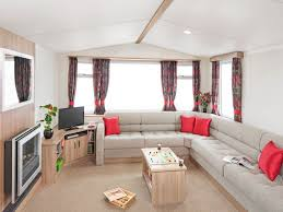 Stunning 2016 3 bedroom caravan with decking area for hire at Berwick Holiday Park, Berwick upon Tweed, Northumberland TD15 1NE
