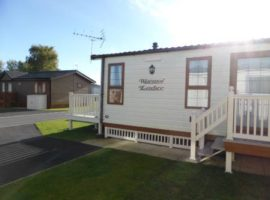 Holiday Caravan at Tattershall Lakes Country Park, Lincolnshire