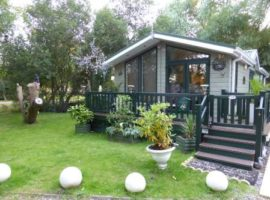 Luxury Lodge at Tattershall Lakes Country Park, Lincolnshire