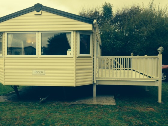 caravan for hire Newquay Cornwall