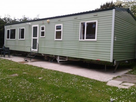 Caravan to rent Newquay Cornwall