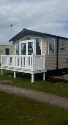 prestige caravan to hire on Havens Cala Gran - 3 bedroom - central heated and double glazed