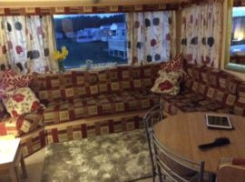 Caravan for rent, Shell Bay, Elie.