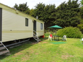 6 berth holiday caravan on Cooper's Beach Holiday Park, East Mersea, Mersea Island, Colchester, North Essex.