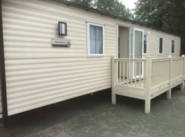 Private 3 Bedroom Caravan For Hire Located At Lakeland, Nr Grange-Over-Sands, South Lakes, Cumbria. Double Glazed, Central Heated. Sleeps 6 Guests.