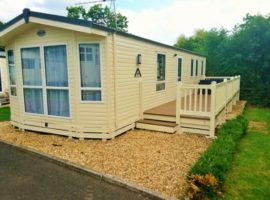 SHOREFIELD - DORSET New  3 Bed Caravan Holiday Home with decking