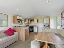 Rio Caravan in the heart of Northumberland situated within Felmoor Park