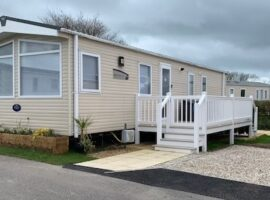 Luxury 8 Berth Holiday Caravan at Durdle Door holiday Park West Lulworth Wareham  Dorset.