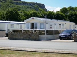 The Beach Caravan Park Llanddulas North Wales.