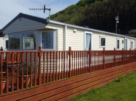 Clarach Bay Holiday Village, Nr Aberystwyth - 6 Berth Gold Delux Caravan - Longest Caravan On Site