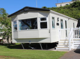 Platinum 4 berth Static at Beverley Bay, Paignton.