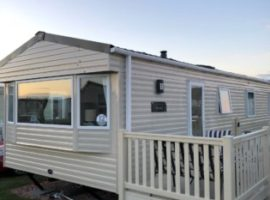 Lovely seaside caravan