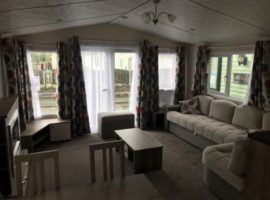 Luxury 3 Bed 8 Birth Static Caravan For Rent @ Golden Gate in Towyn, Wales