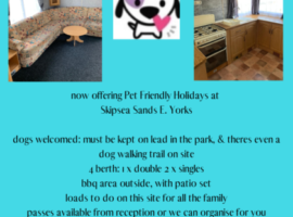 Dog Friendly Skipsea Sands Holiday Park