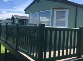 3 bedroom static caravan for rent at White Acres Holiday Park, Newquay