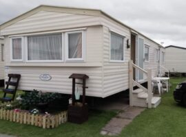 2 bed 8 berth caravan.