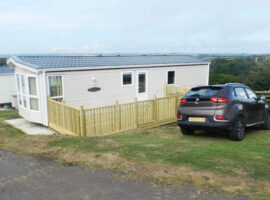 Cwtch Caravan - Howelston Holiday Park. Little Haven and Broad Haven in St. Brides Bay, Pembrokeshire, West Wales